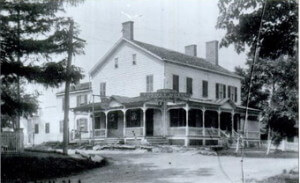 Rocky Hill Inn as it looked in 1880
