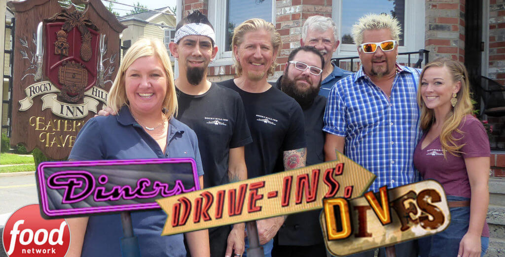 Rocky Hill Inn on Diners Drive-ins and Dives with Guy Fieri